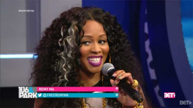 Remy Ma stopped by 106 & Park [Video]