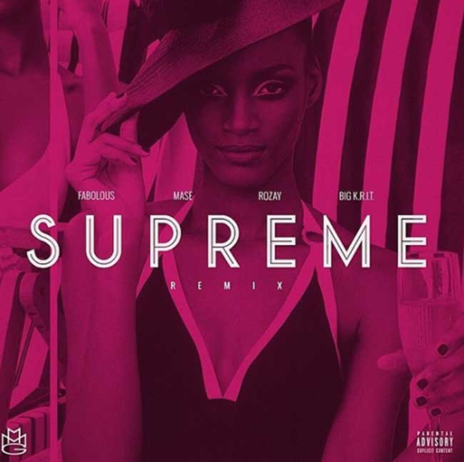 Rick Ross - Supreme (Remix) Feat. Fabolous, Mase & Big K.R.I.T. [Audio]